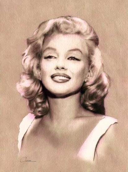 Marilyn Monroe by votreaquarelle